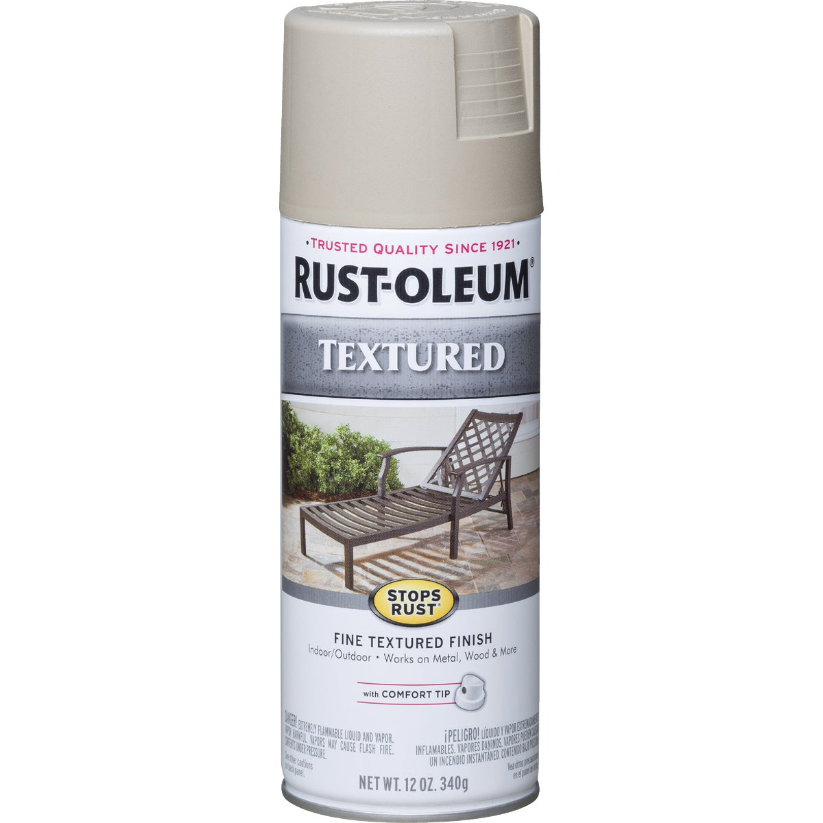 SANDSTN TEXT SPRAY PAINT - 7223-830 by Rustoleum