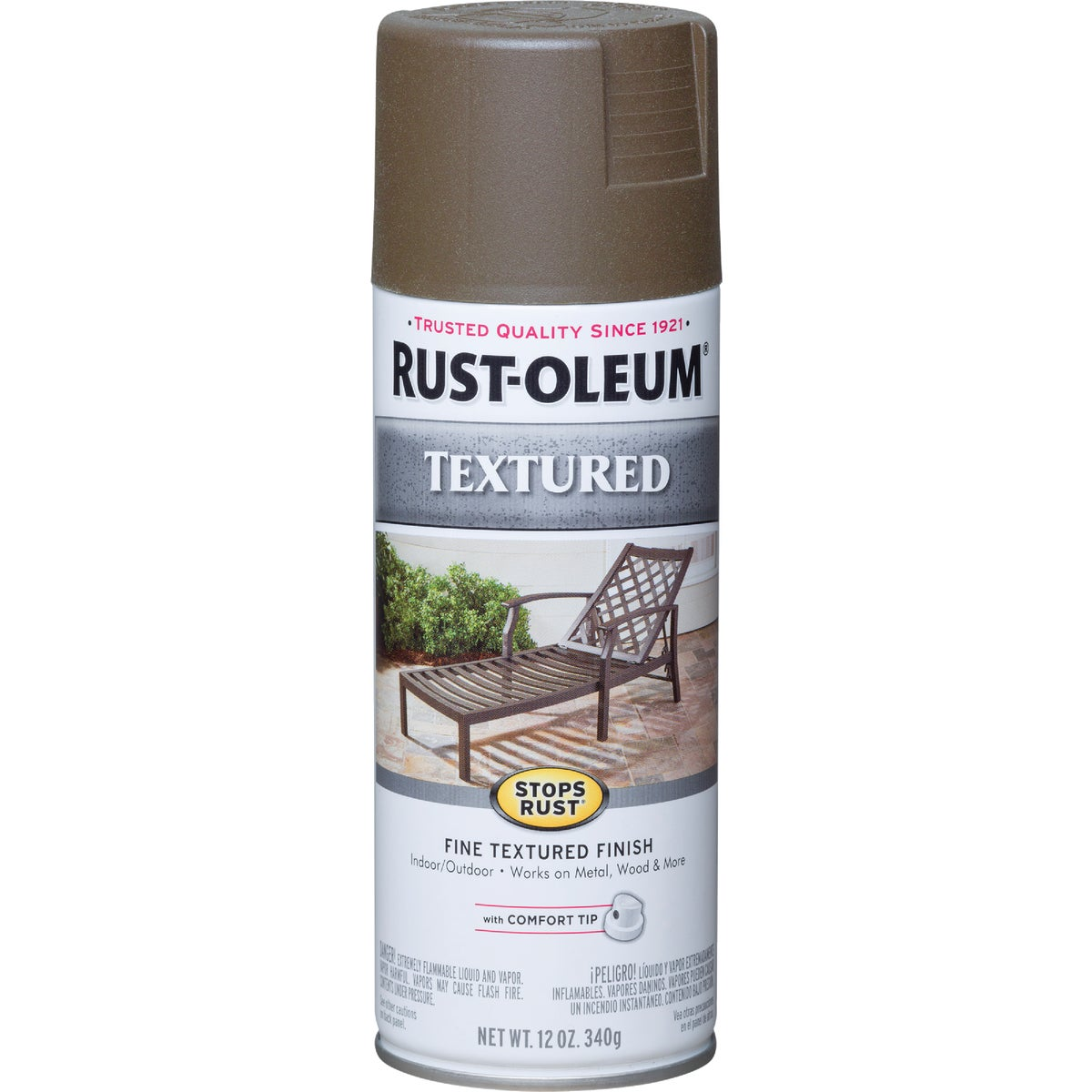 BRONZE TEXT SPRAY PAINT - 7226-830 by Rustoleum
