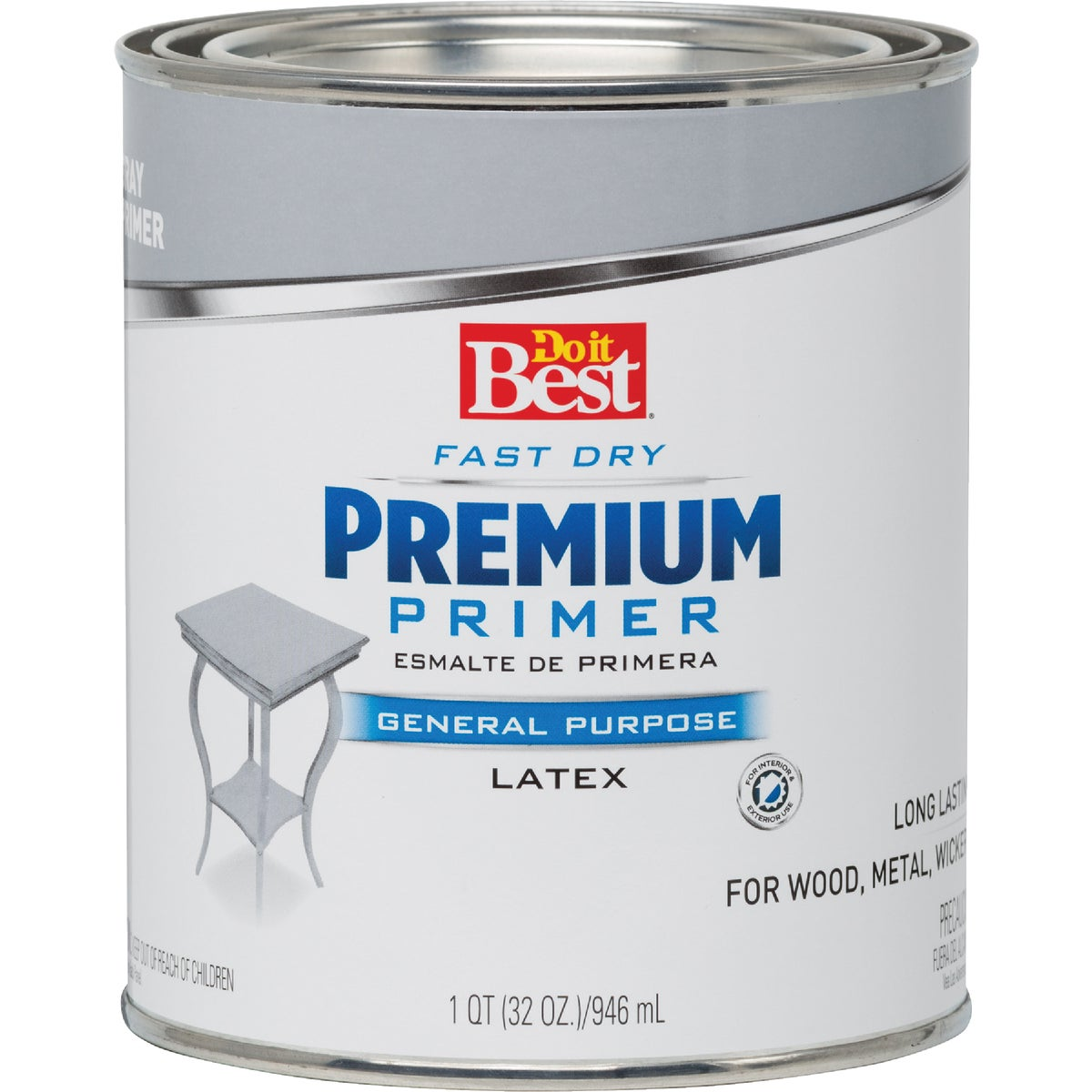 GRAY LATEX PRIMER - 203319D by Rustoleum