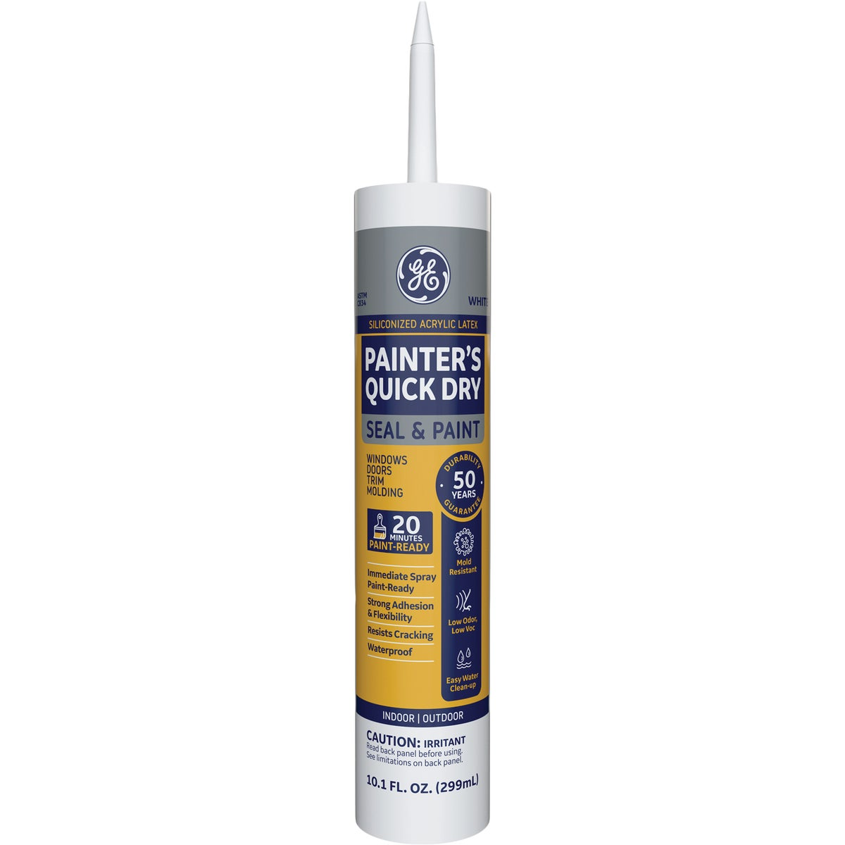 WHITE PAINTER'S CAULK - GE55749 by Momentive Performanc