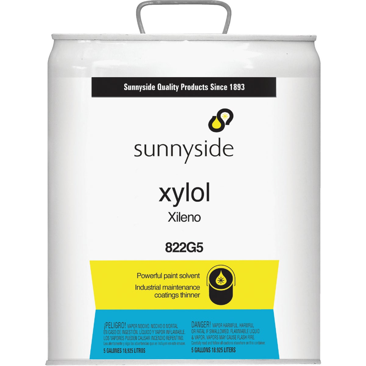 5GAL XYLOL SOLVENT - 822G5 by Sunnyside Corp
