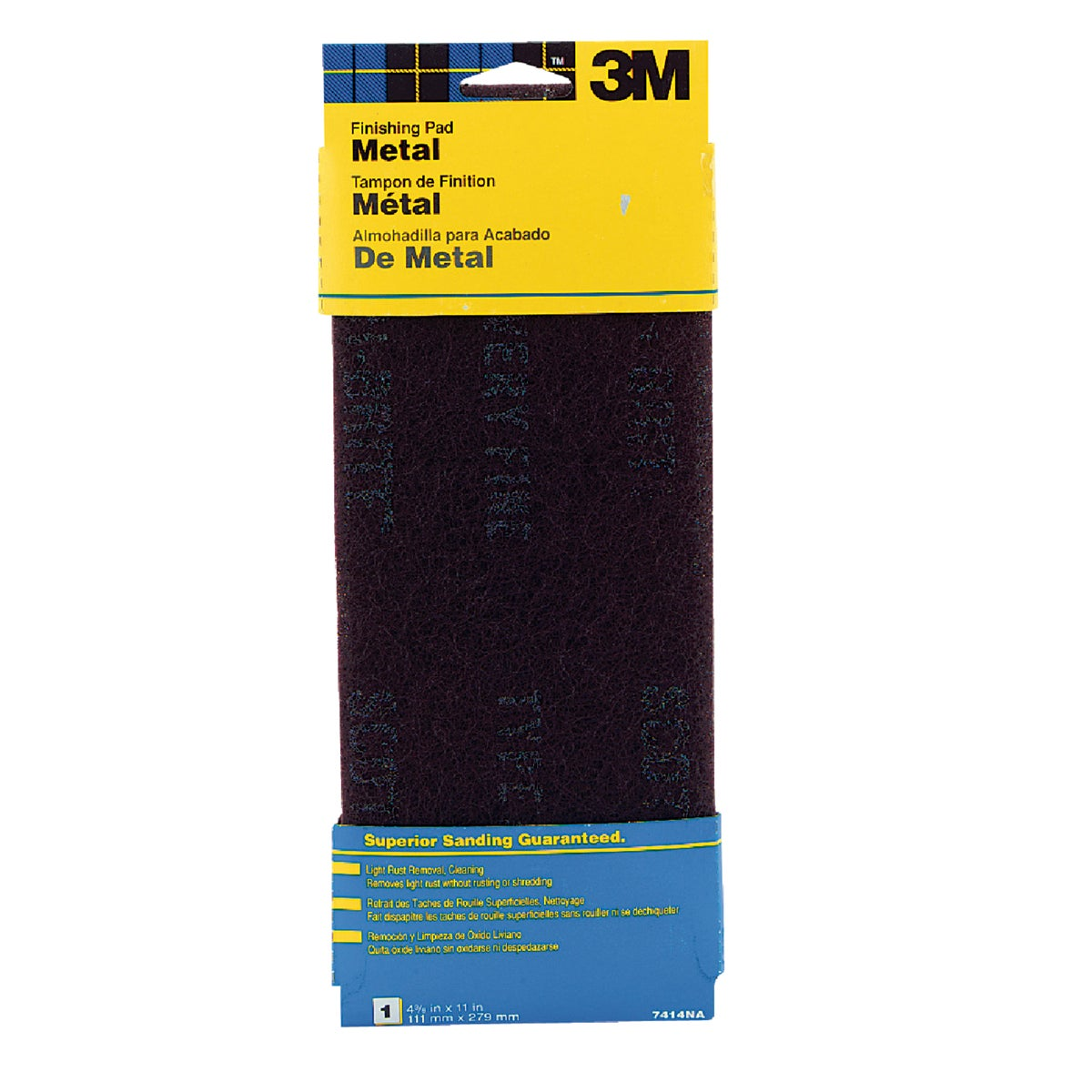 METAL FINISHING PAD - 7414 by 3m Co