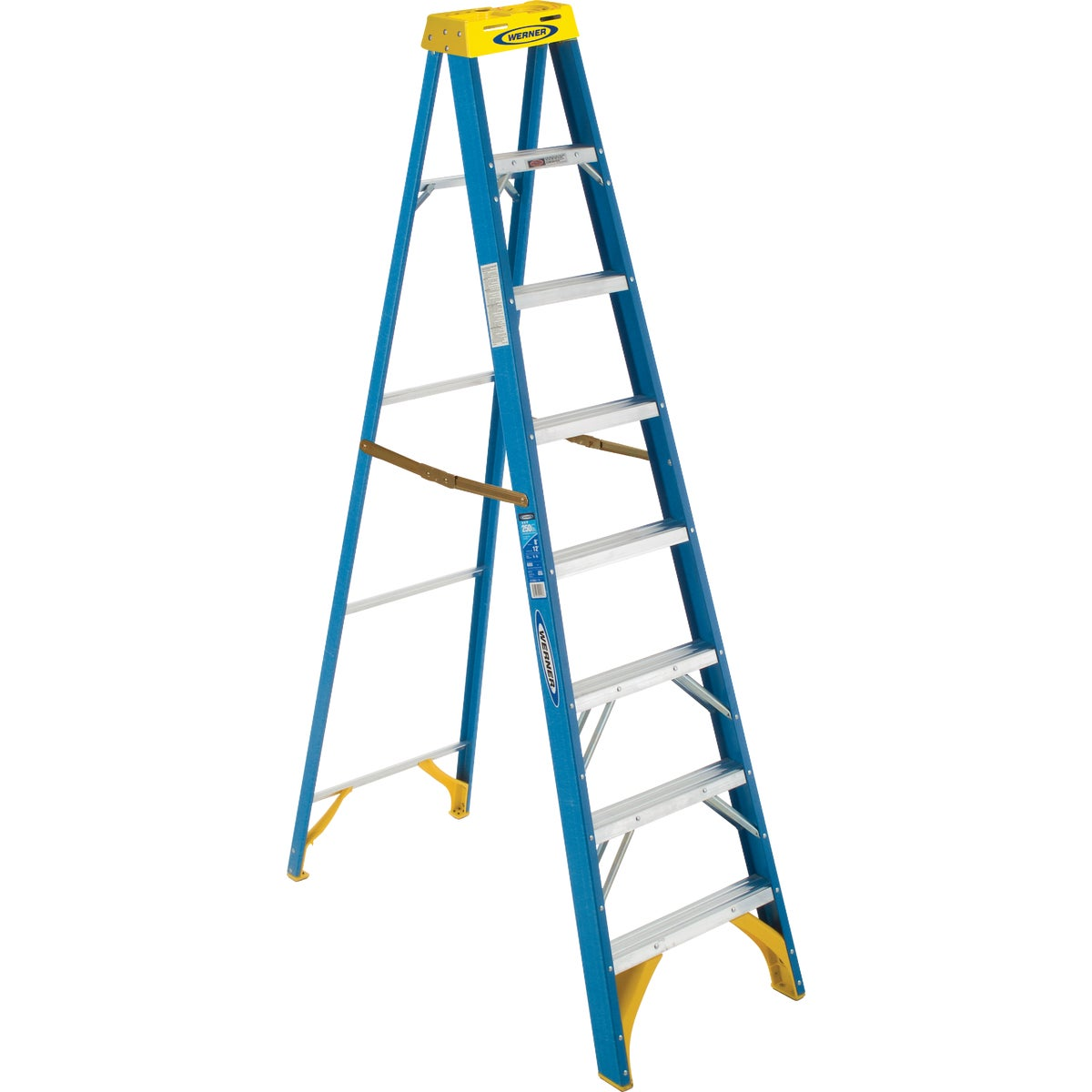 T-1 8' FBGL STEPLADDER - 6008 by Werner Co