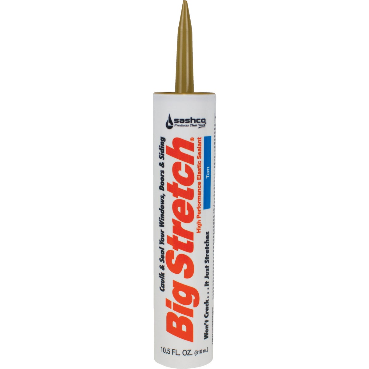 TAN ACRYLIC CAULK - 10014 by Sashco Sealants Inc