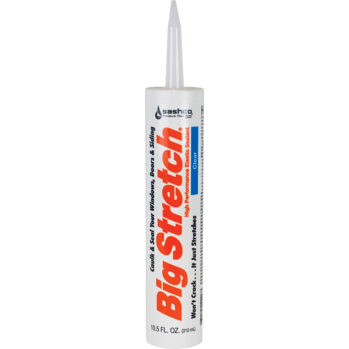 CLEAR ACRYLIC CAULK - 10006 by Sashco Sealants Inc