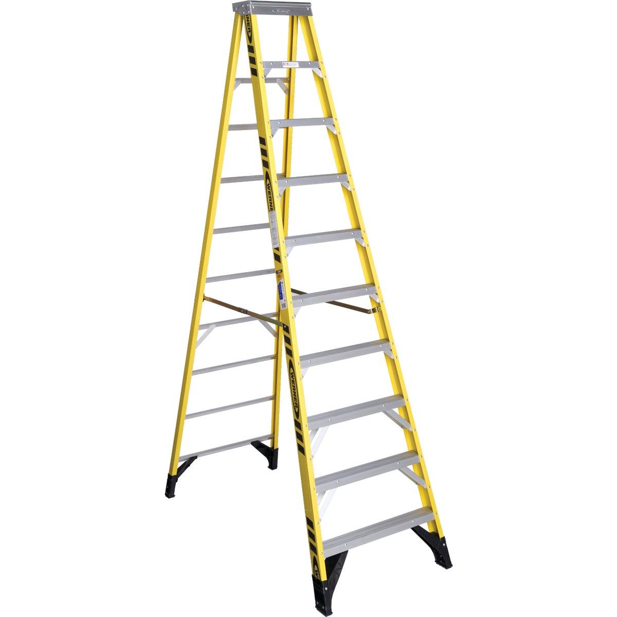 T-1AA 10'FBGL STEPLADDER - 7310 by Werner Ladder