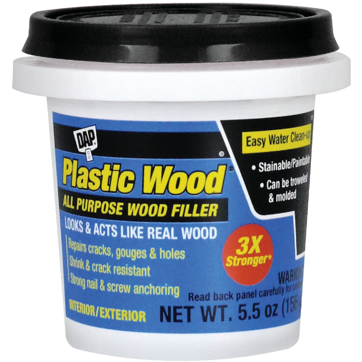 1/4PT LATEX PLASTIC WOOD