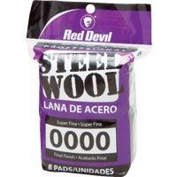 Red Devil 8PK #0000 STEEL WOOL 320