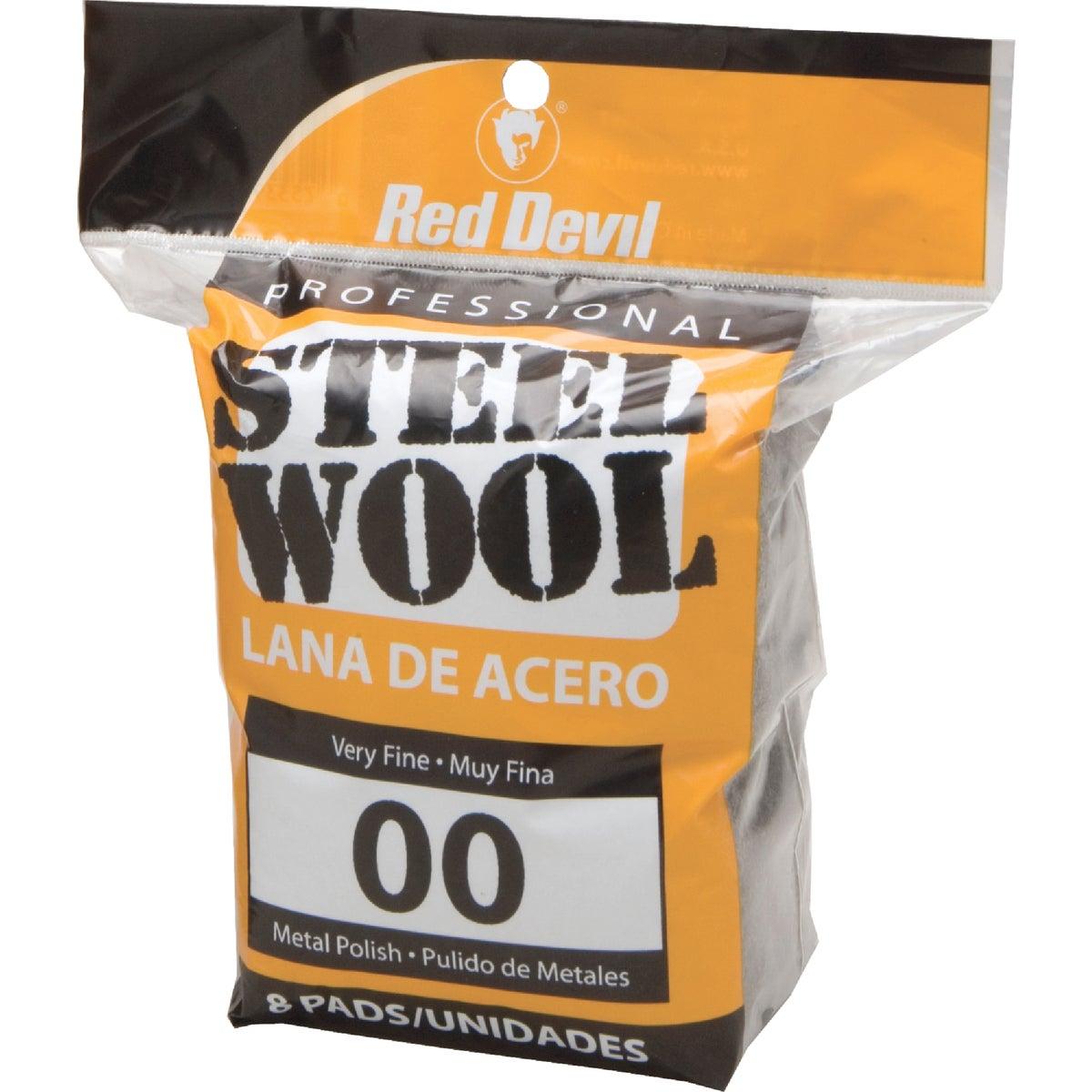 8PK #00 STEEL WOOL