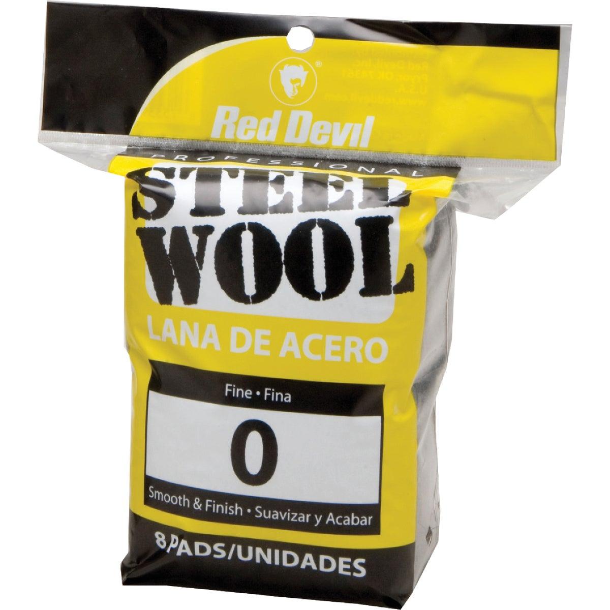 8PK #0 STEEL WOOL