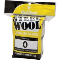 Red Devil 8PK #0 STEEL WOOL 323
