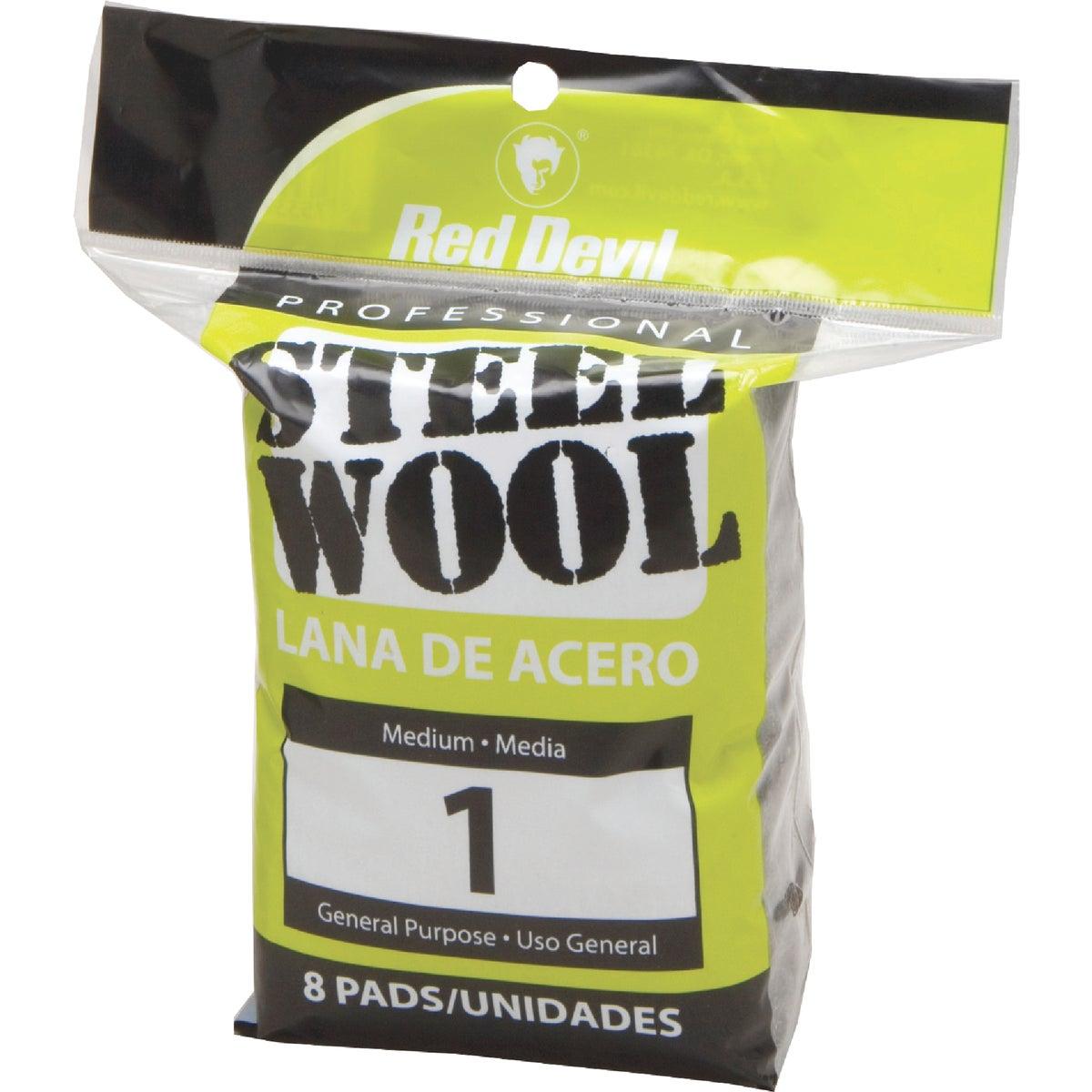 8Pk #1 Steel Wool