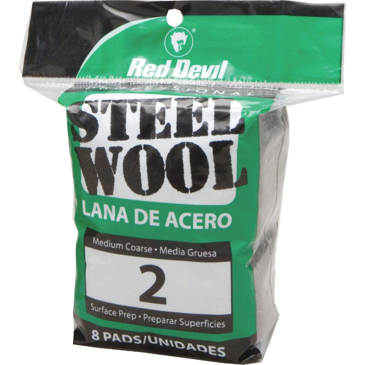 8PK #2 STEEL WOOL