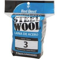 Red Devil 8PK #3 STEEL WOOL 326
