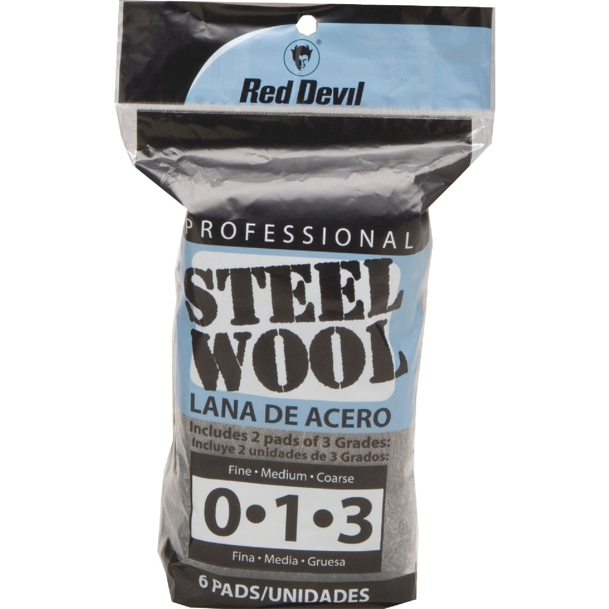 6PK ASSORTED STEEL WOOL - 3332 by Red Devil