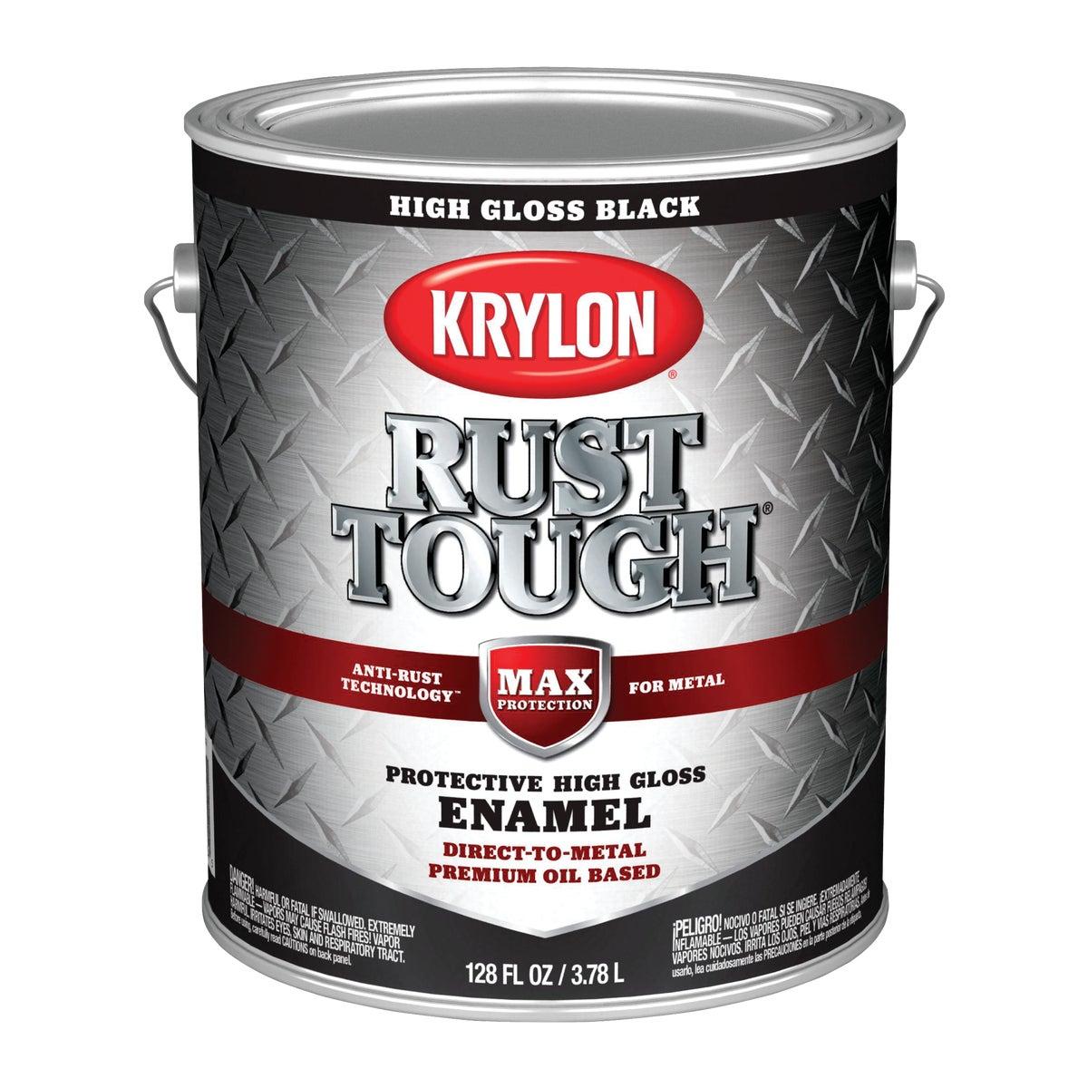 GLOSS BLACK RUST ENAMEL - 044.0021824.007 by Valspar Corp