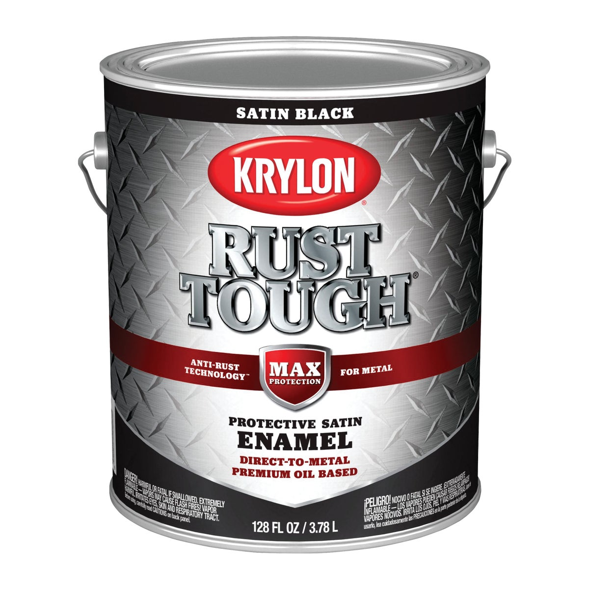 SATIN BLACK RUST ENAMEL - 044.0021825.007 by Valspar Corp