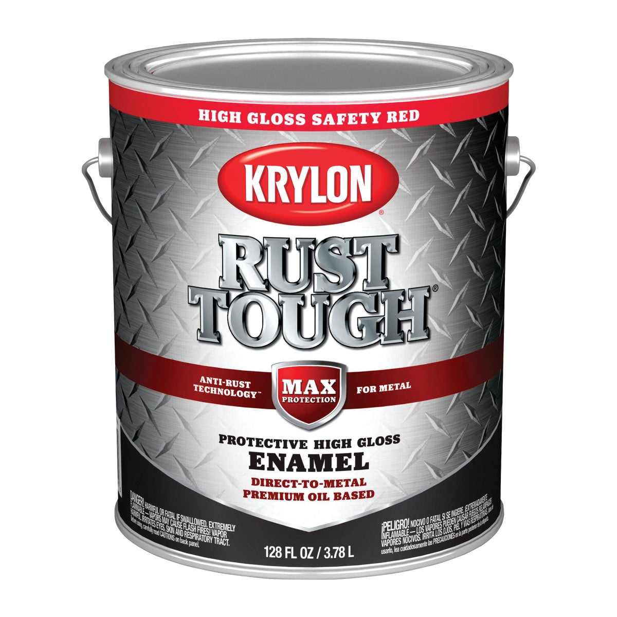 SAFETY RED RUST ENAMEL - 044.0021827.007 by Valspar Corp