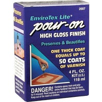Environmental Tech. 4OZ CLEAR POUR-ON FINISH 2007