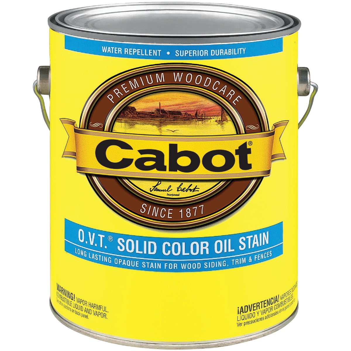 WHITE BS OVT SOLID STAIN - 140.0006501.007 by Valspar Corp