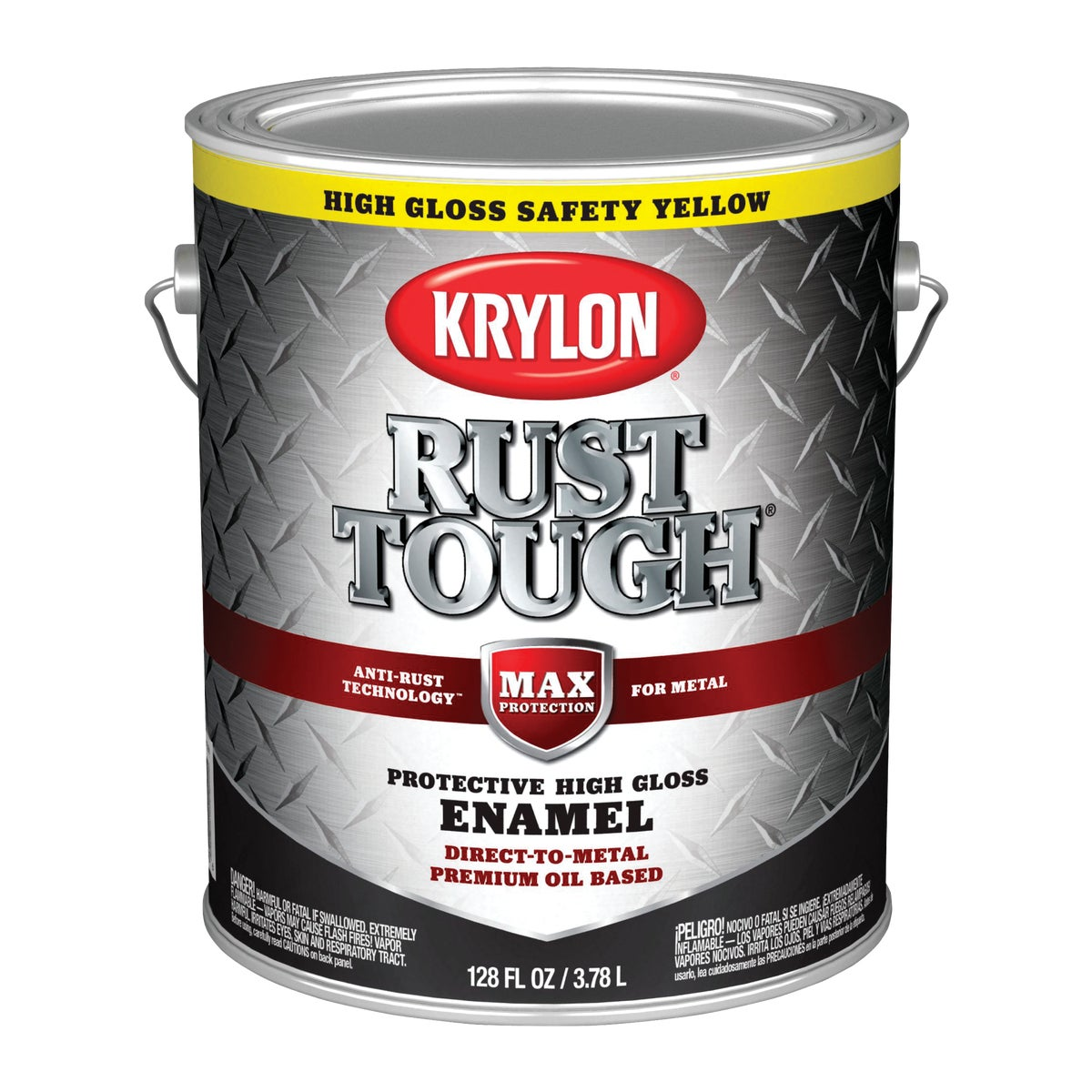 SAFETY YEL RUST ENAMEL - 044.0021845.007 by Valspar Corp