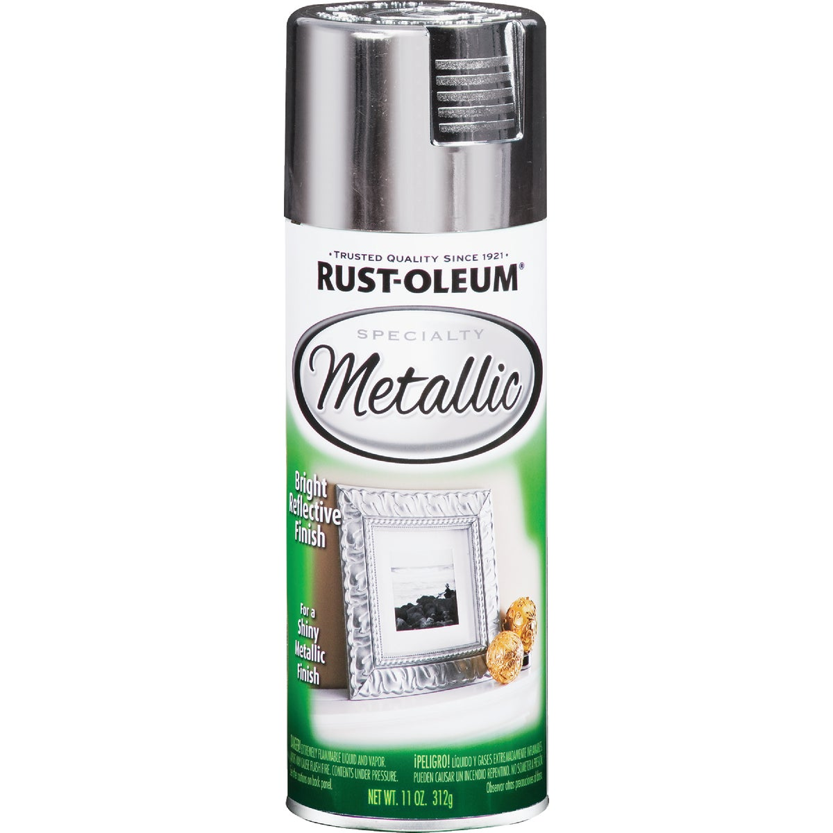 SLVR METALIC SPRAY PAINT - 1915-830 by Rustoleum