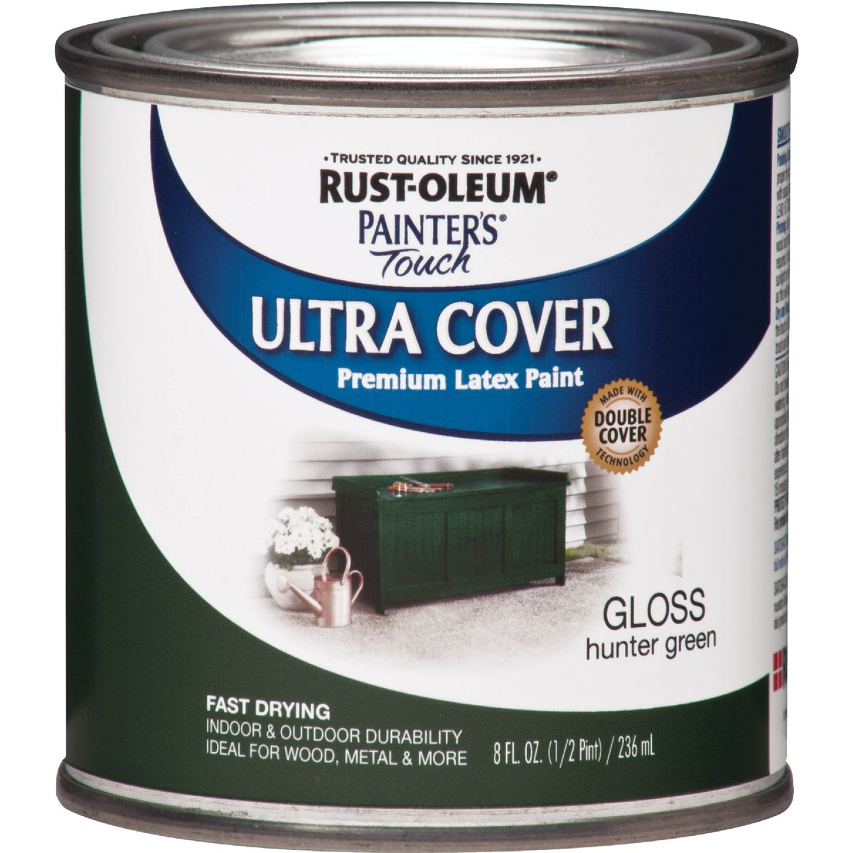 HUNTER GREEN LATEX PAINT - 1938-730 by Rustoleum