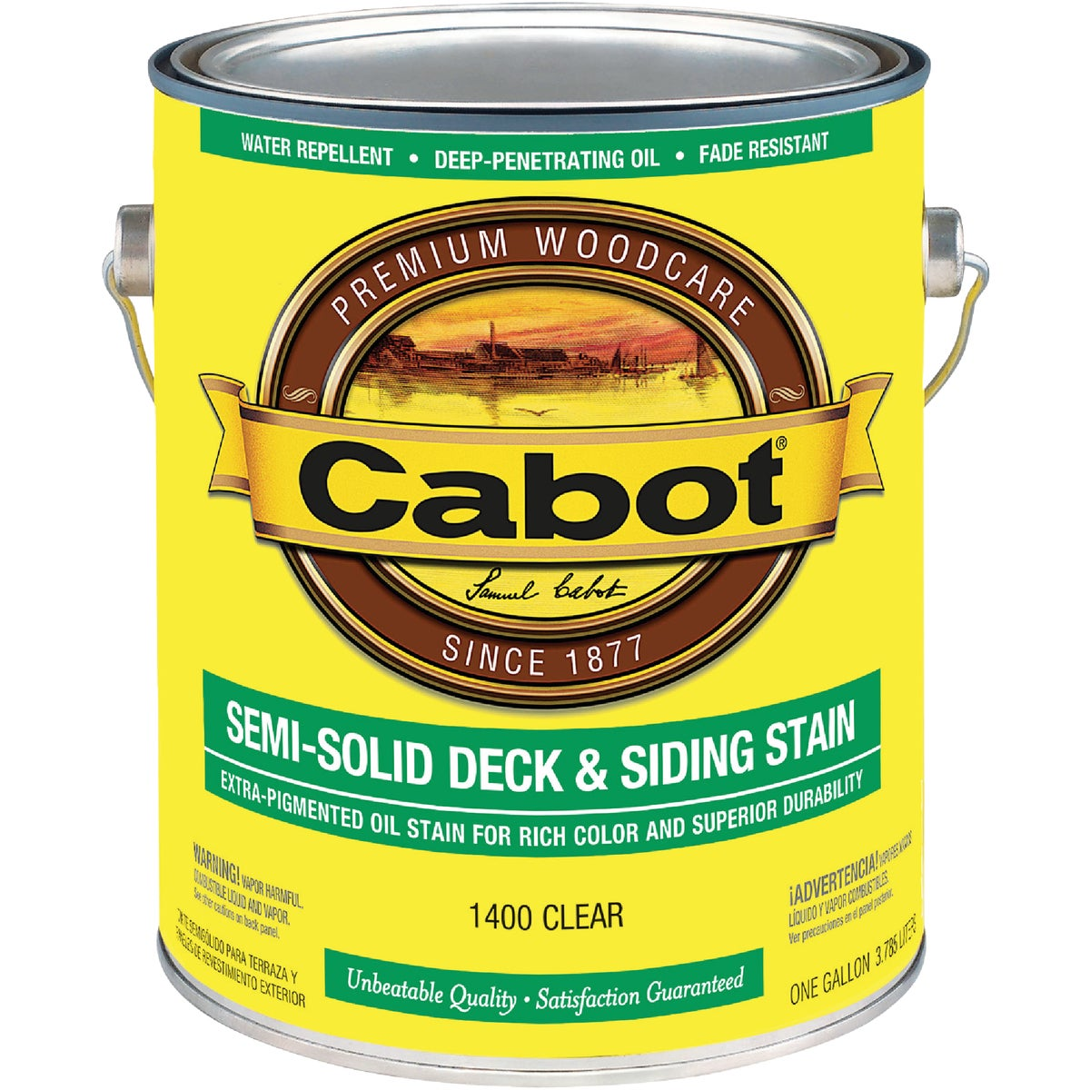 CLEAR SEM-SOL DECK STAIN - 140.0001400.007 by Valspar Corp