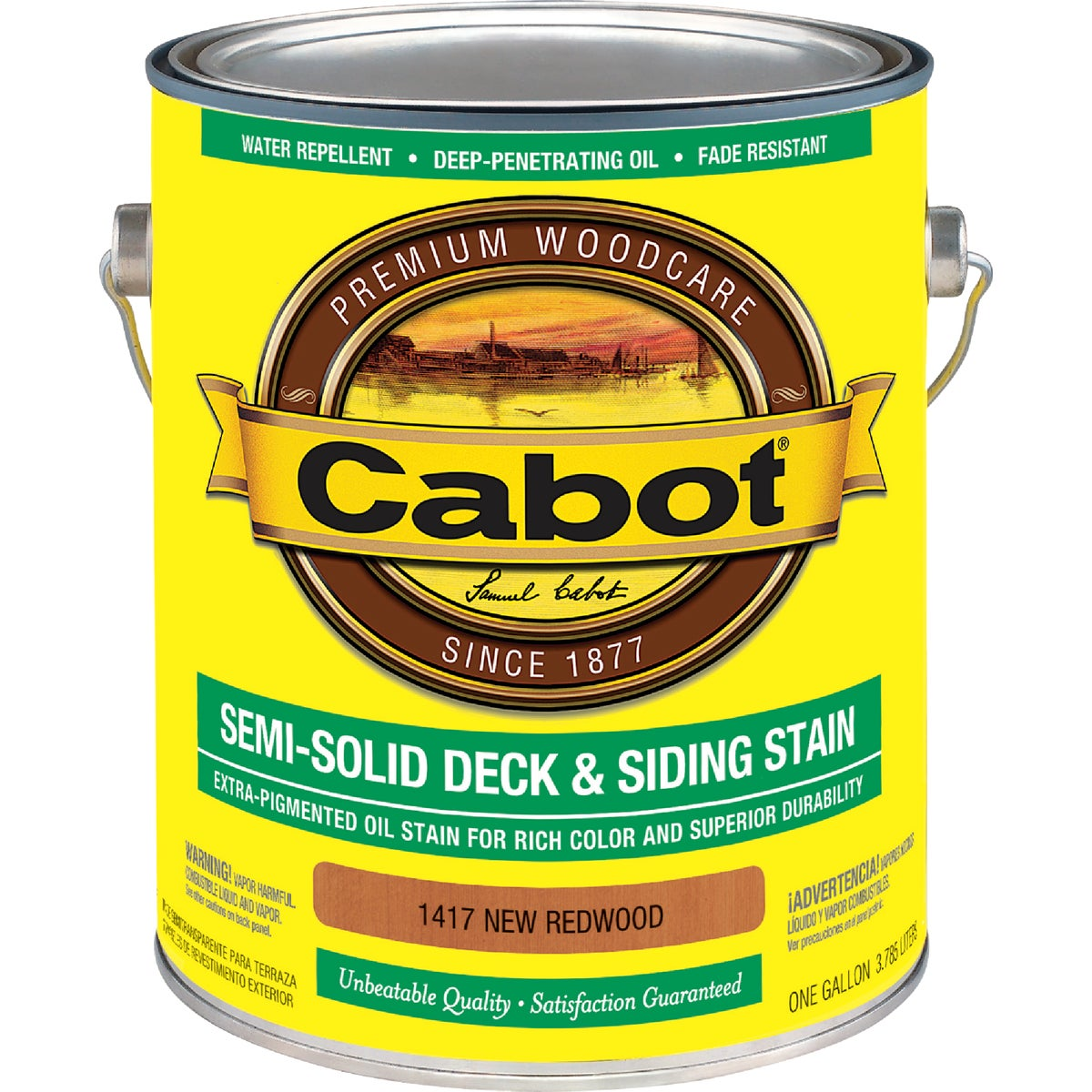 N REDWD S-SOL DECK STAIN - 140.0001417.007 by Valspar Corp