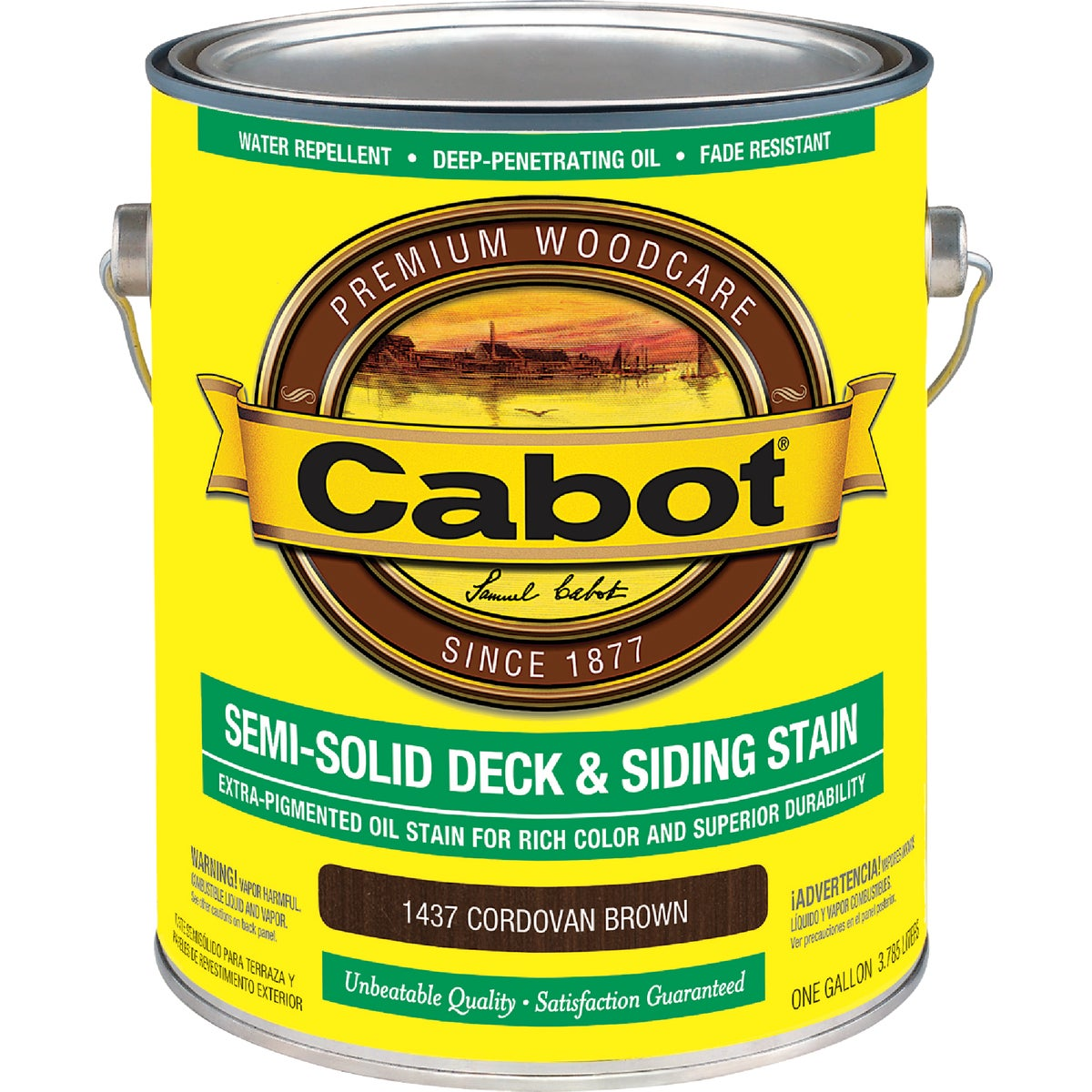 COR BRN S-SOL DECK STAIN - 140.0001437.007 by Valspar Corp