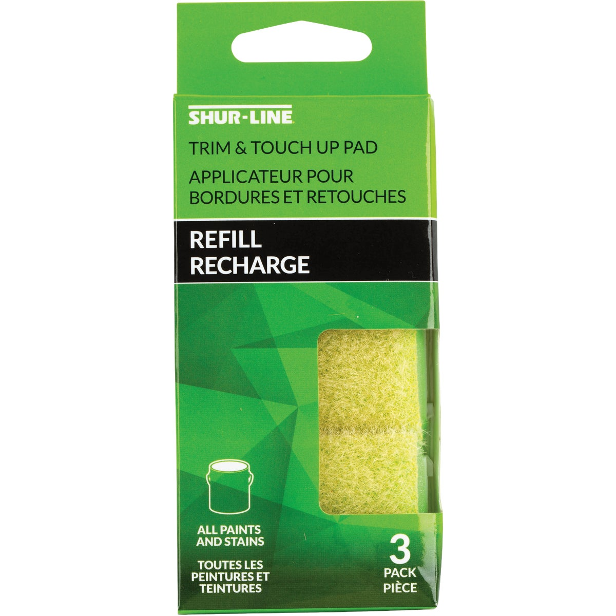 3PC REPLACE TRIM PADS - 01540 by Shur Line