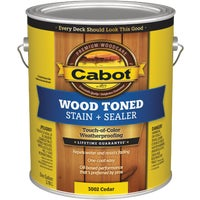 Cabot Alkyd/Oil Base Wood Toned Deck & Siding Stain, 140.0003002.007