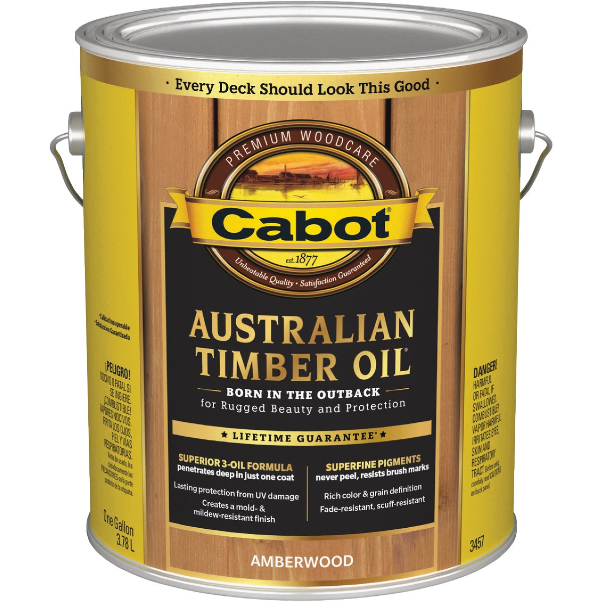 AMBRWD TIMBER OIL FINISH - 140.0003457.007 by Valspar Corp