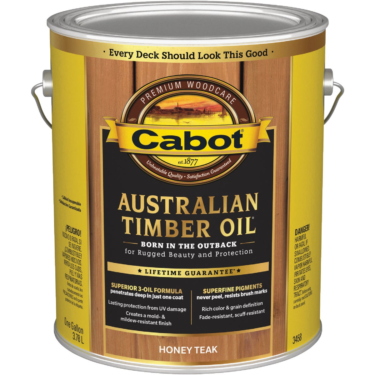 H TEAK TIMBER OIL FINISH - 140.0003458.007 by Valspar Corp