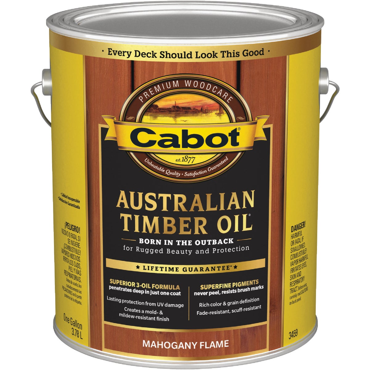 MAHGNY TIMBER OIL FINISH - 140.0003459.007 by Valspar Corp