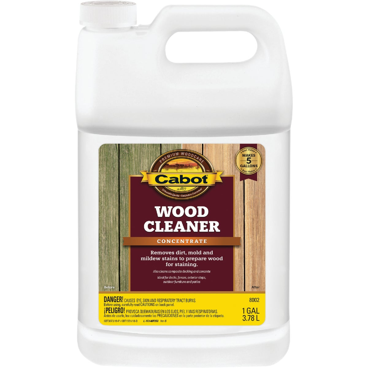 WOOD CLEANER - 140.0008002.007 by Valspar Corp