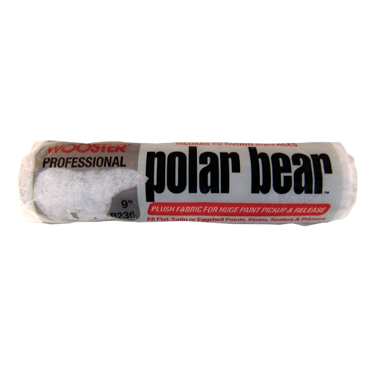 "9"" POLAR BEAR COVER - R236-9 by Wooster Brush Co"