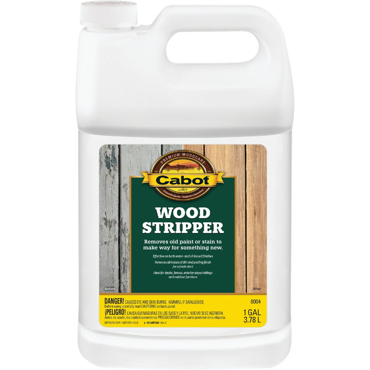 WOOD STRIPPER - 140.0008004.007 by Valspar Corp
