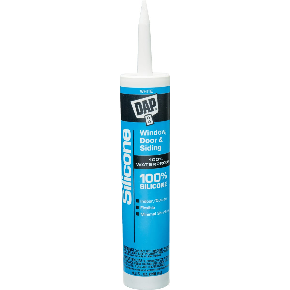 WHITE SILICONE SEALANT - 08646 by Dap Inc