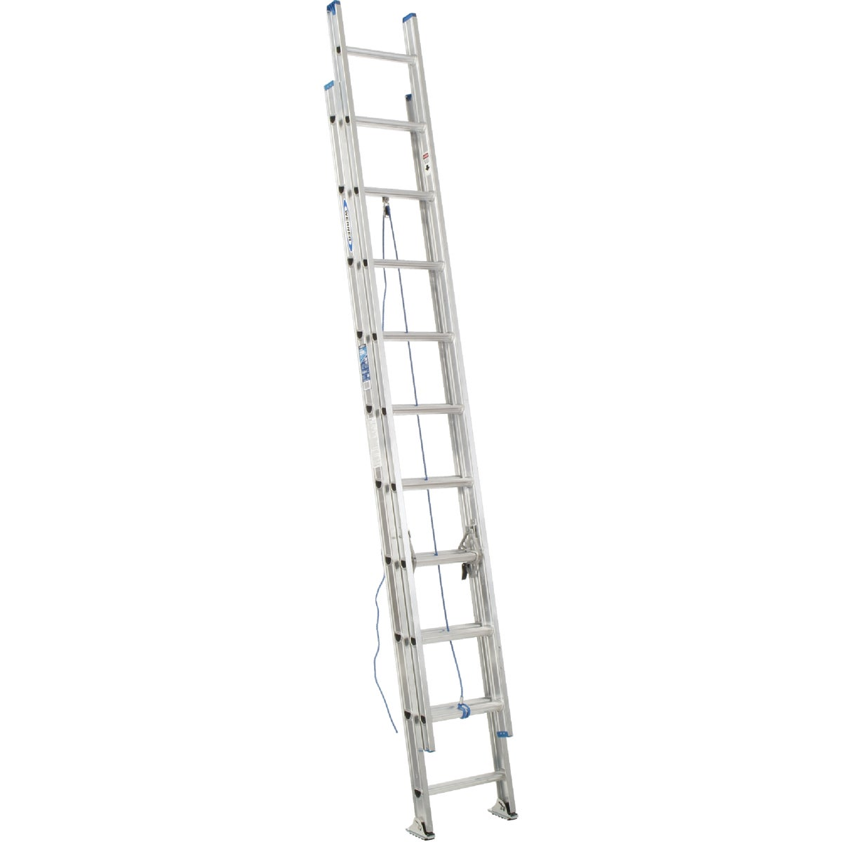 T-1 16' ALUM EXT LADDER - D1316-2 by Werner Ladder