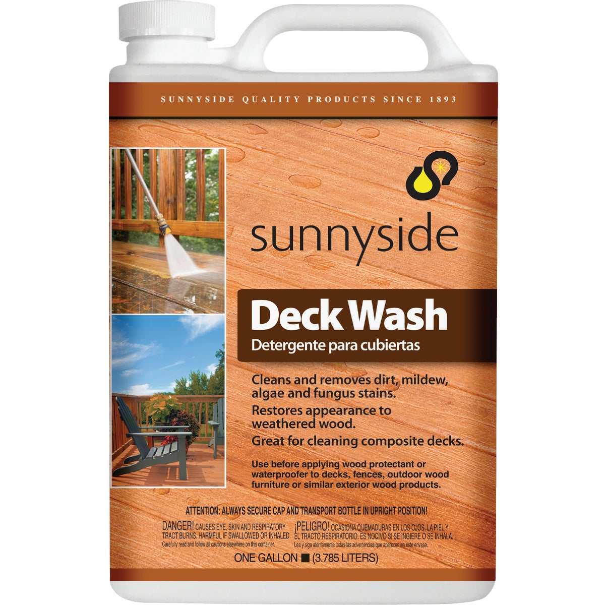 GALLON DECK WASH