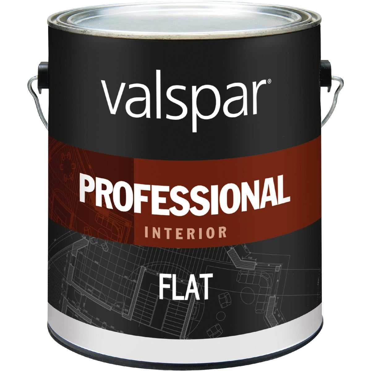 INT FLAT HIGH-HIDE PAINT - 045.0011600.007 by Valspar Corp