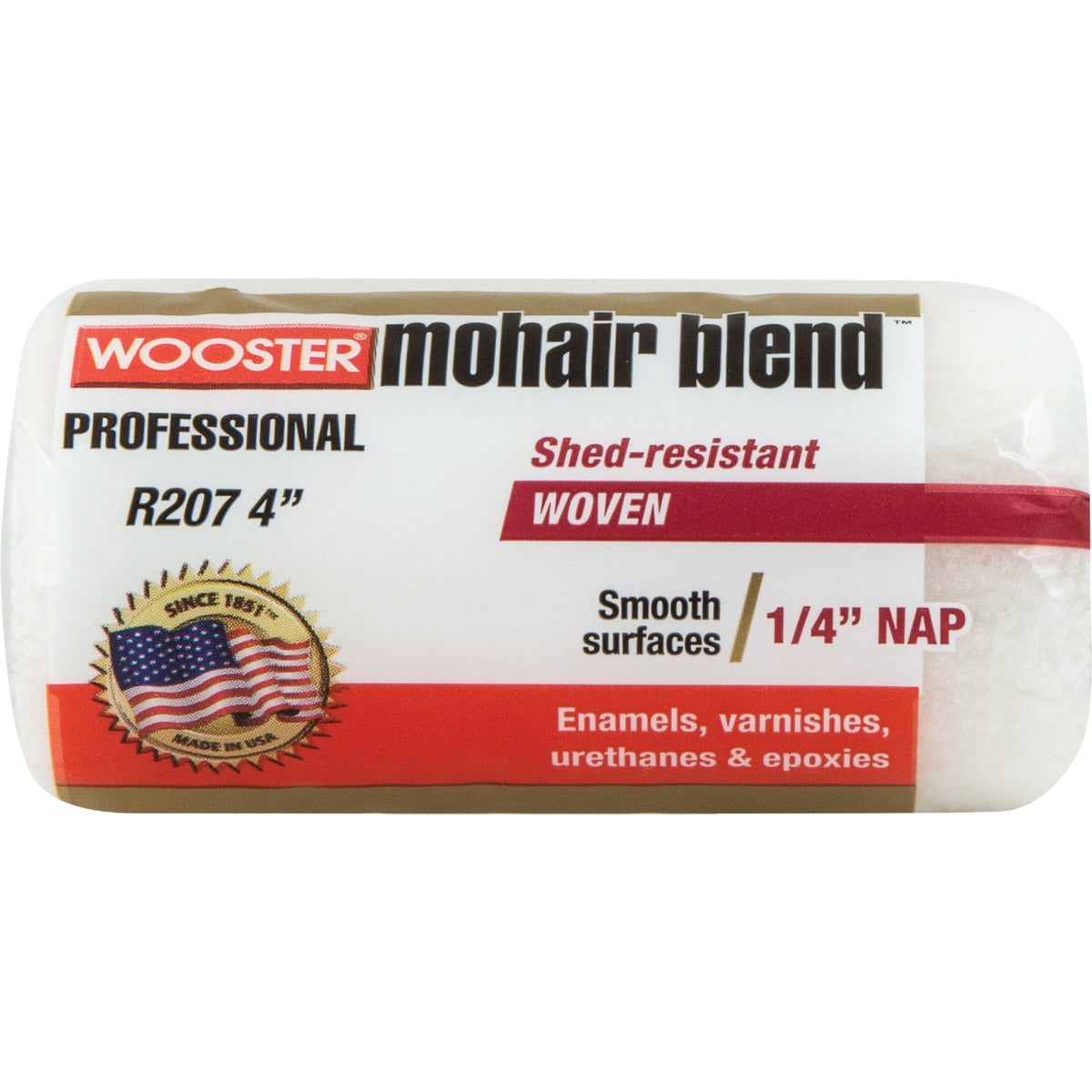 4X1/4 ROLLER COVER - R207-4 by Wooster Brush Co