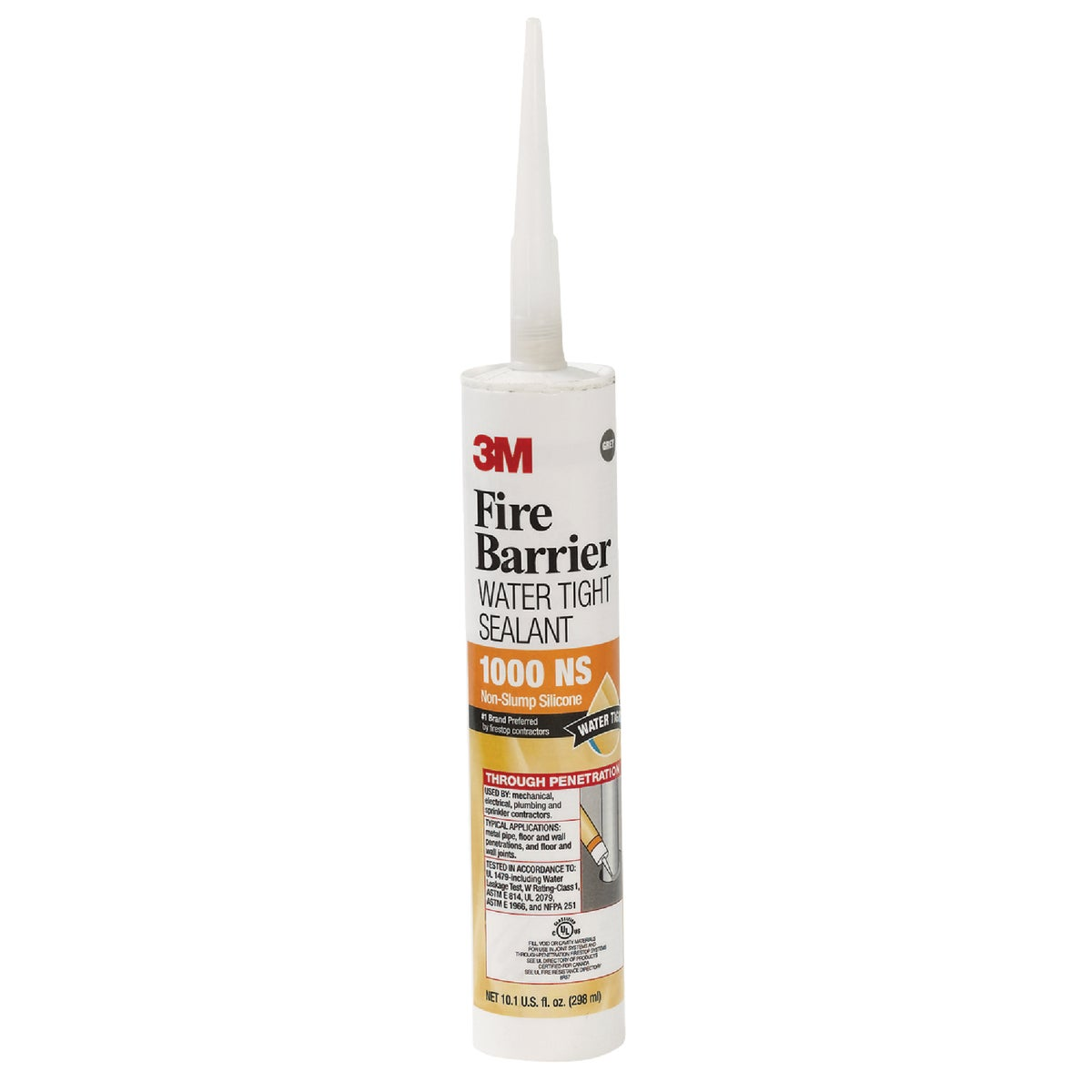 GRY FIRE BARRIER SEALANT - 1000 NS by 3m Co