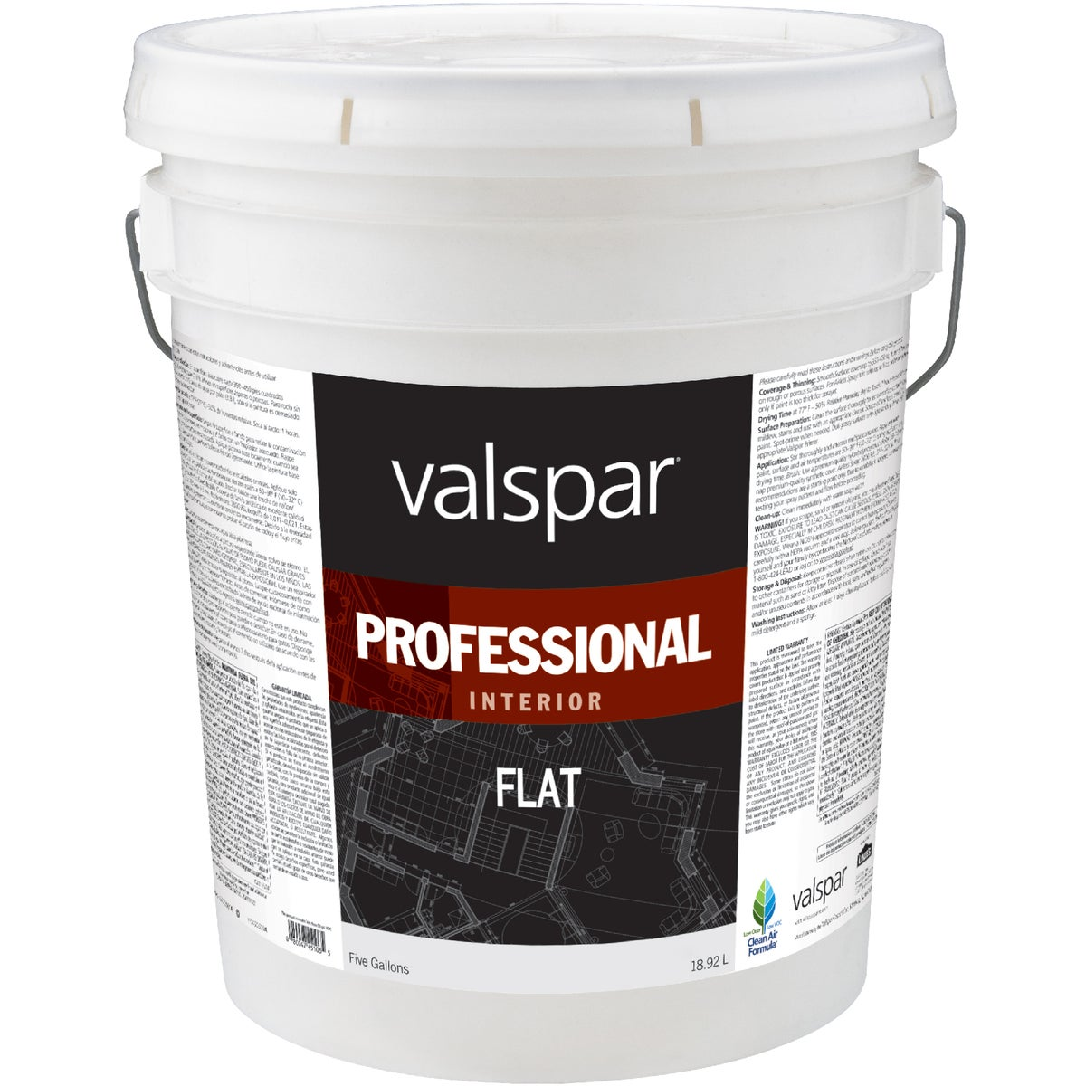 INT FLAT MED BASE PAINT - 045.0011612.008 by Valspar Corp