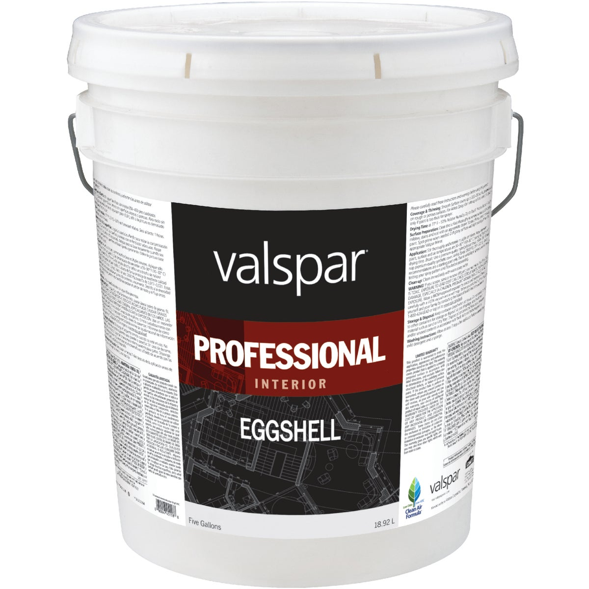 INT EGG LIGHT BASE PAINT - 045.0011811.008 by Valspar Corp