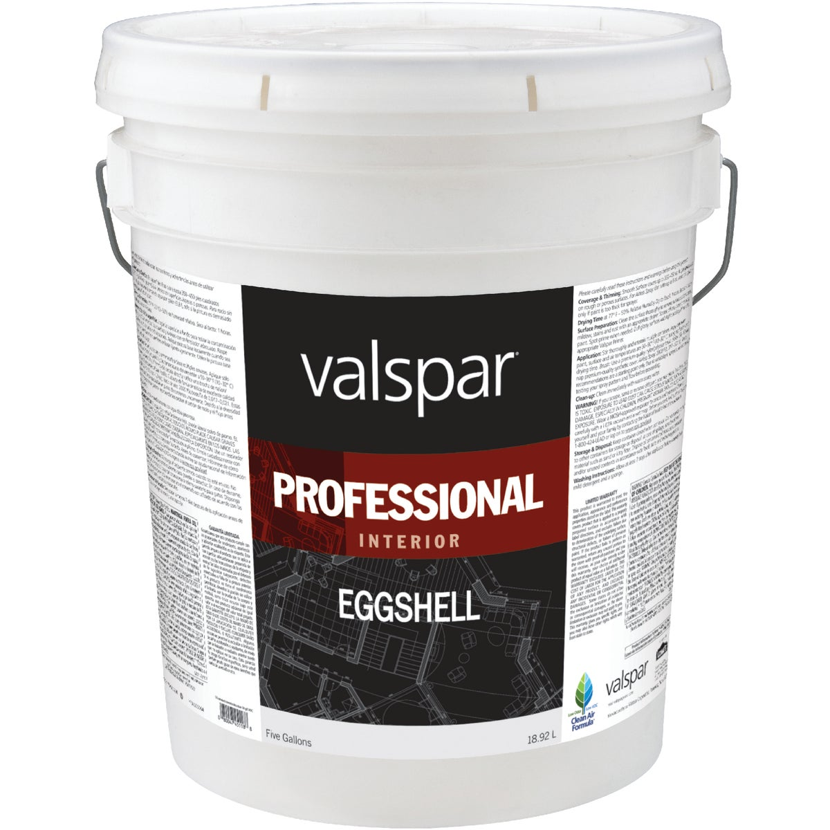 INT EGG MED BASE PAINT - 045.0011812.008 by Valspar Corp