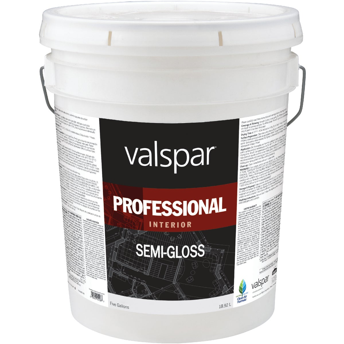 INT S/G HIGH-HIDE PAINT - 045.0011900.008 by Valspar Corp