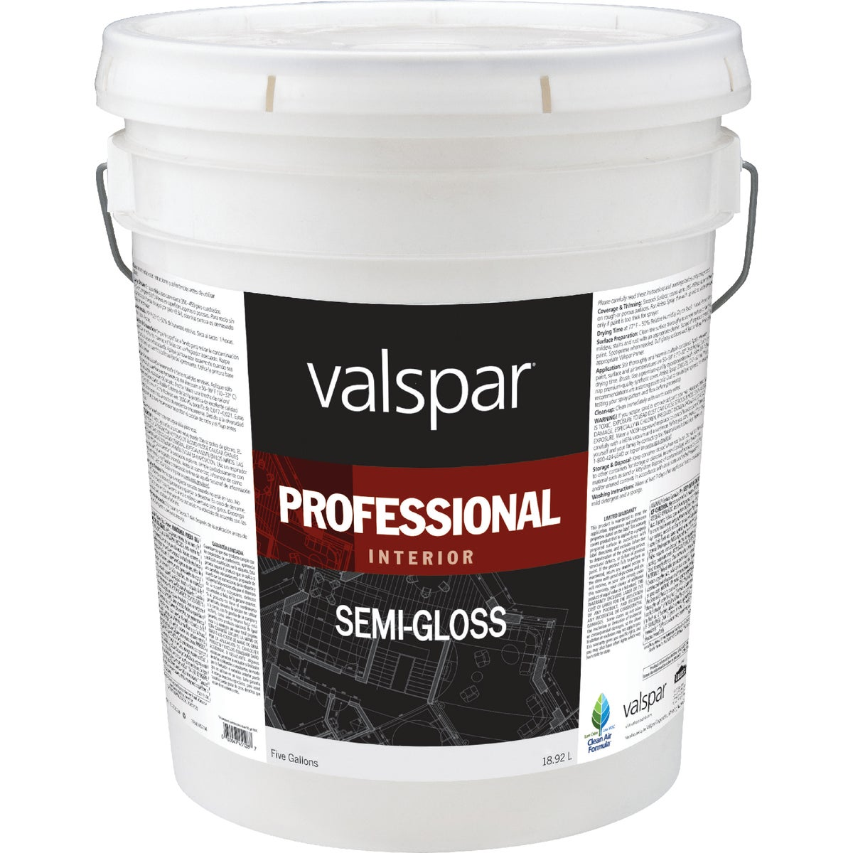 INT S/G MED BASE PAINT - 045.0011912.008 by Valspar Corp