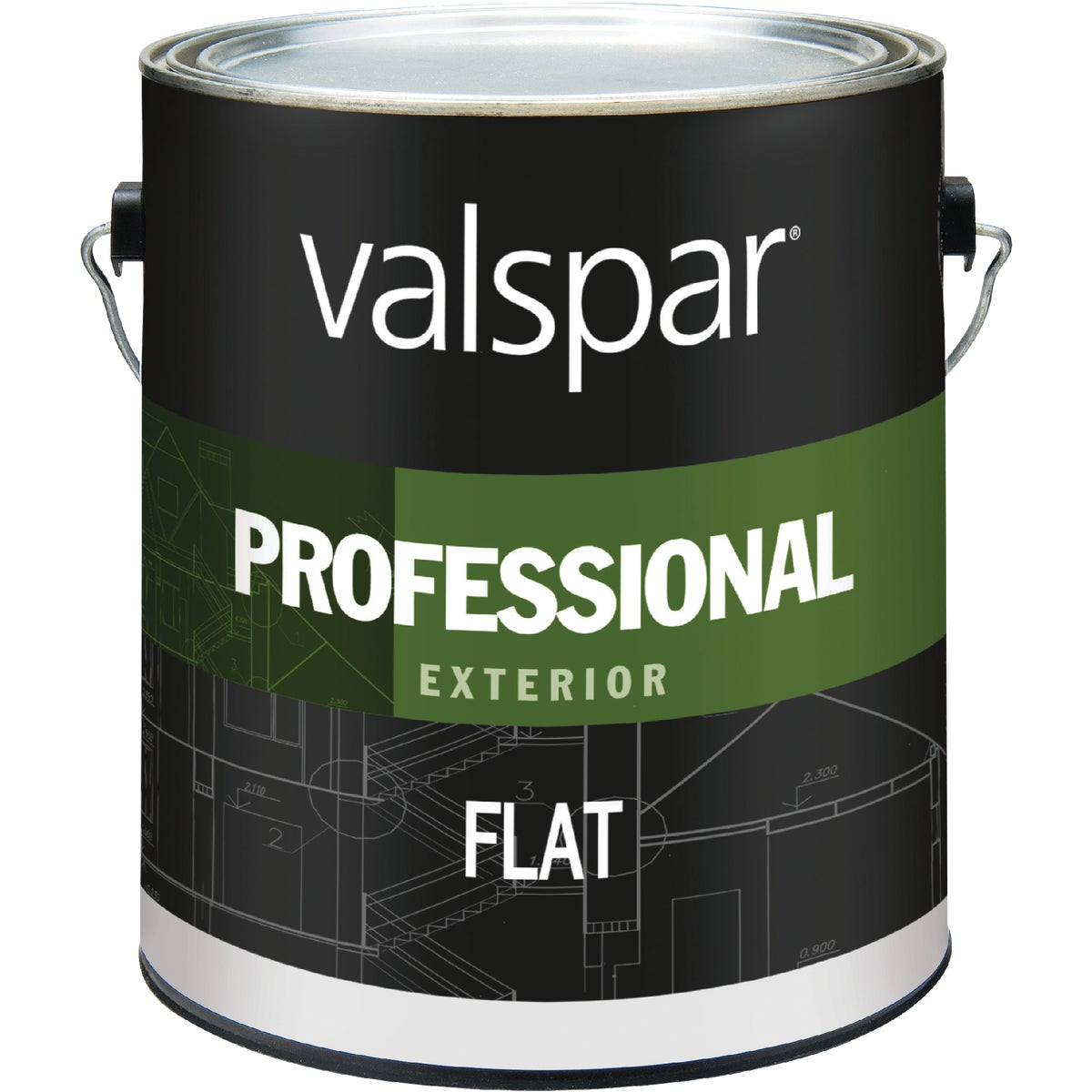 EXT FLAT WHITE PAINT - 045.0012600.007 by Valspar Corp